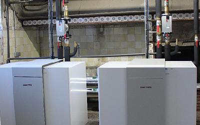 Installation de deux pompes à chaleur à Briec
